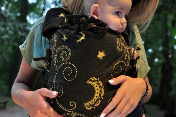Luna Dream multi size black and gold 100